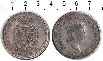 Изображение Монеты Сицилия 120 гран 1818 Серебро VF