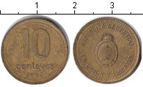 Изображение Дешевые монеты Южная Америка Аргентина 10 сентаво 1992 Медь XF