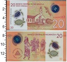 Изображение Банкноты Северная Америка Никарагуа 20 кордоба 0  UNC-