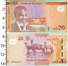 Изображение Банкноты Намибия 20 долларов 2015  UNC