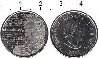 Изображение Мелочь Северная Америка Канада 25 центов 2013 Медно-никель UNC-