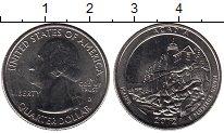Изображение Мелочь Северная Америка США 1/4 доллара 2012 Медно-никель UNC-