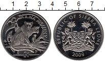 Изображение Мелочь Африка Сьерра-Леоне 1 доллар 2009 Медно-никель UNC