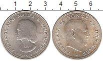 Изображение Мелочь Дания 5 крон 1964 Серебро UNC-