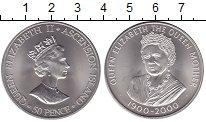 Изображение Мелочь Великобритания Аскенсион 50 пенсов 2000 Медно-никель Proof-