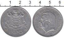 Изображение Мелочь Монако 5 франков 1945 Алюминий XF