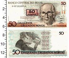 Изображение Банкноты Бразилия 50 крузадос 0  UNC