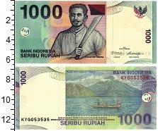 Изображение Банкноты Индонезия 1000 рупий 2011  UNC