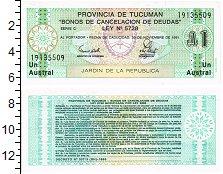 Изображение Банкноты Аргентина 1 аустралес 1991  UNC