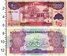 Изображение Банкноты Сомалиленд 1000 шиллингов 2011  UNC