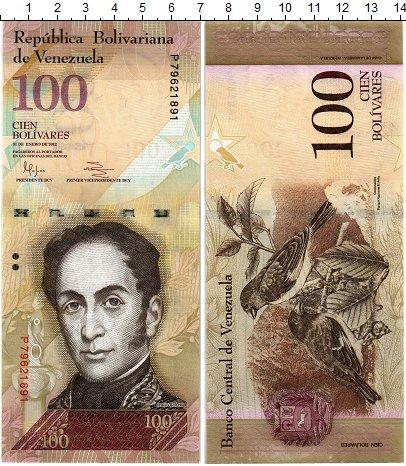Изображение Банкноты Венесуэла 100 боливар 2012  UNC