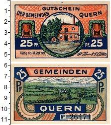 Изображение Банкноты Германия : Нотгельды 25 пфеннигов 1921  UNC Нотгельд