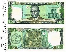 Изображение Банкноты Либерия 100 долларов 2006  UNC