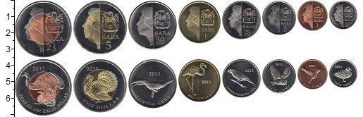 Изображение Наборы монет Нидерланды Саба Саба 2011 2011  XF