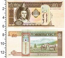 Изображение Банкноты Монголия 50 тугриков 2008  UNC