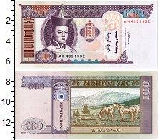 Изображение Банкноты Монголия 100 тугриков 2008  UNC