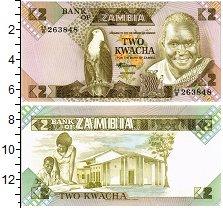 Изображение Банкноты Замбия 2 квачи 0  UNC
