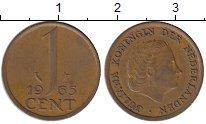 Изображение Мелочь Европа Нидерланды 1 цент 1968 Медь VF