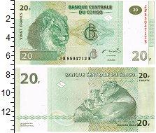 Изображение Банкноты Конго 20 франков 2003  UNC