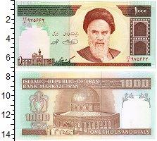 Изображение Банкноты Иран 1000 риалов 1992  UNC