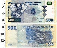 Изображение Банкноты Конго 500 франков 2002  UNC