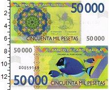 Изображение Банкноты Кабо Дахла 50000 песет 0  UNC