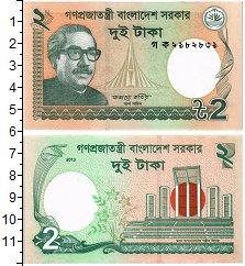 Изображение Банкноты Бангладеш 2 така 2013  UNC