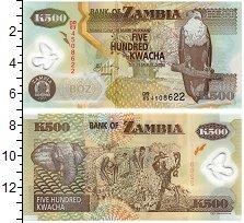Изображение Банкноты Африка Замбия 500 квач 2011  UNC-