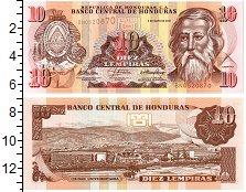 Изображение Банкноты Гондурас 10 лемпир 2010  UNC
