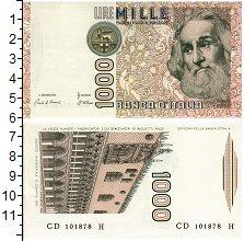 Изображение Банкноты Италия 1000 лир 1982  UNC