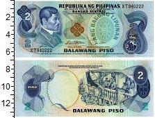 Изображение Банкноты Филиппины 2 писо 0  UNC