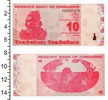 Изображение Банкноты Зимбабве 10 долларов 2006  UNC