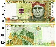 Изображение Банкноты Перу 10 соль 2009  UNC