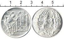 Изображение Монеты Европа Италия 500 лир 1993 Серебро UNC-