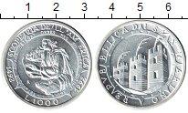 Изображение Монеты Европа Сан-Марино 1000 лир 1992 Алюминий UNC-