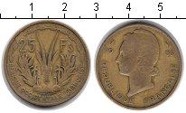 Изображение Монеты Западная Африка 25 франков 1956  VF