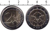 Изображение Монеты Европа Бельгия 2 евро 2006 Биметалл XF