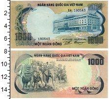 Изображение Банкноты Вьетнам 1000 донг 0  UNC-