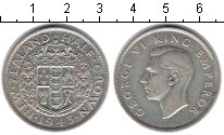 Изображение Монеты Австралия и Океания Новая Зеландия 1/2 кроны 1943 Серебро XF