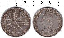 Изображение Монеты Европа Великобритания 2 флорина 1889 Серебро XF
