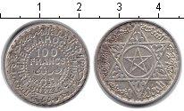 Изображение Монеты Африка Марокко 100 франков 1372 Серебро VF