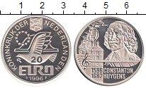 Изображение Монеты Европа Нидерланды 20 евро 1996 Серебро Proof-