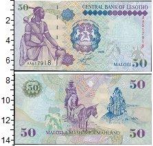 Изображение Банкноты Лесото 50 малоти 2009  UNC
