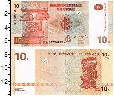 Изображение Банкноты Конго 10 франков 2003  UNC