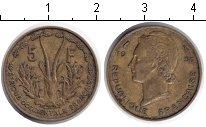 Изображение Монеты Франция Французская Африка 5 франков 1956  XF