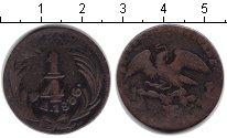 Изображение Монеты Северная Америка Мексика 1/4 риала 1836 Медь VF