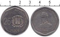 Изображение Монеты Доминиканская республика 25 песо 2005 Медно-никель