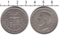 Изображение Монеты Новая Зеландия 1/2 кроны 1943 Серебро VF