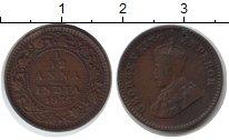 Изображение Монеты Индия 1/12 анны 1933 Медь VF