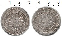 Изображение Монеты Азия Йемен 1/2 реала 1378 Серебро VF